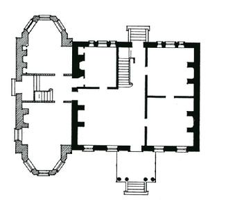 Fenwick Hall Floor early plan