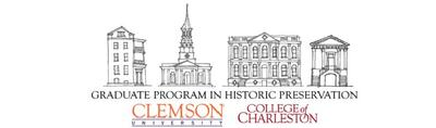 clemson and college of charleston historic preservation degree