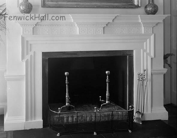 Fenwick Great Hall fireplace
