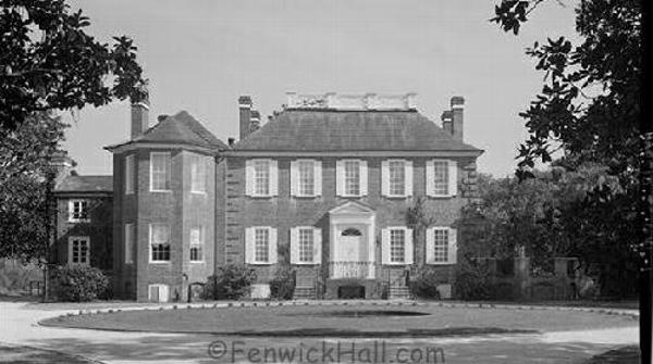 1980's as Fenwick Hospital. As the main house was used as a hospital during multiple wars, it was only approporiate it be used a such during somewhat peace times also