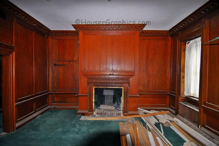 Fenwick SouthEast room during recent restoration.