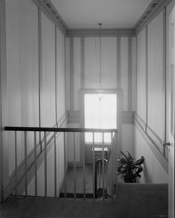 Stair Hall, Plantations, I526, Hauser Photography,