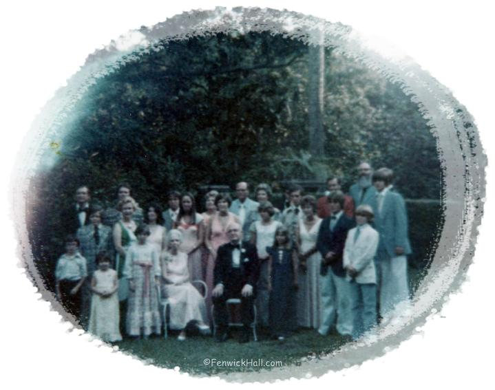 Blanchard Family Reunion & 50th Wedding Anniversary, 1970's