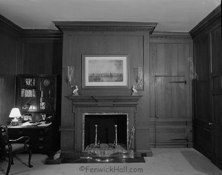 Wood Paneling, Fenwick Hall,