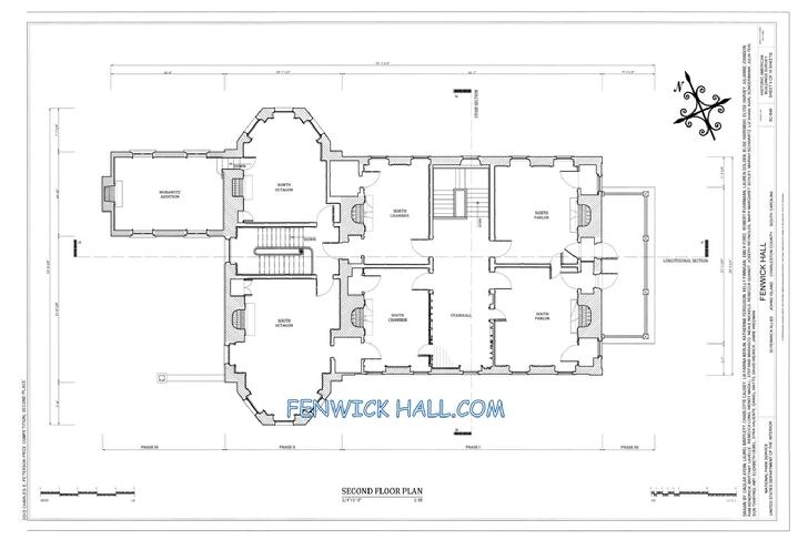 FENWICK FLOOR PLAN,  CHARLESTON PIRATES