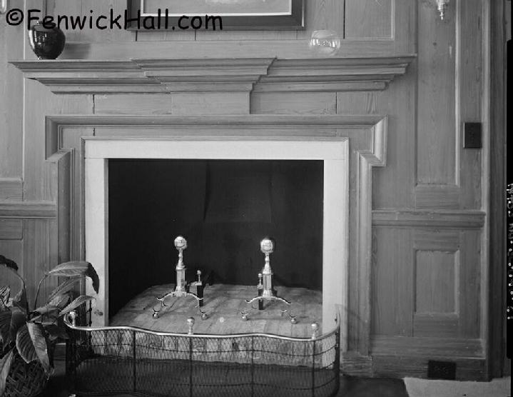 Fenwick 1980's NE bed chamber fireplace